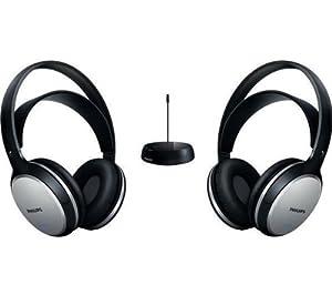 Philips SHC5102 Double Casque hi-fi sans fil Transmission FM 2 canaux de transmission