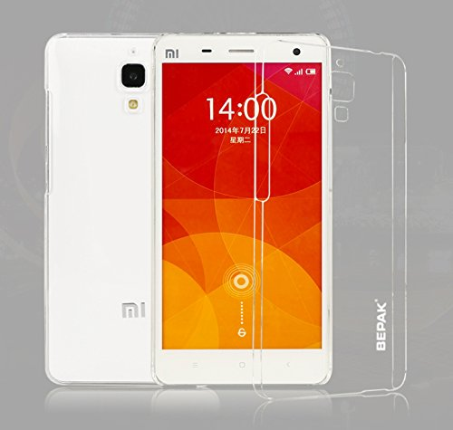 XIAOMI MI4 BEPAK NAKED BACK COVER CASE - XIAOMI MI4 (With Screen Guard)