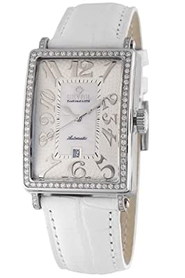 Gevril Women's 6209NL Glamour Automatic White Diamond Watch