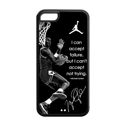 NBA MVP Superstar Chicago Bulls Michael Jordan Printed Iphone 5C Plastic And TPU Silicone Back Wearproof & Sleek Case Cover at Amazon.com