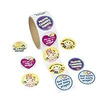 Prayer Roll Stickers