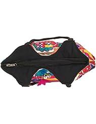 MinkysDecor Indian Antique Handwork Hand Embroidered Shopping Bag Shoulder Bag Hobo Bag Sling Bag Purse Multicolour... - B01HXPQGN4