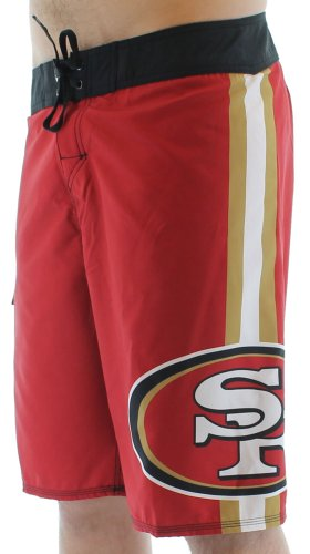 Quiksilver NFL San Francisco 49ers Men's Boardshorts Board Shorts Swim Red Size 42 at Amazon.com