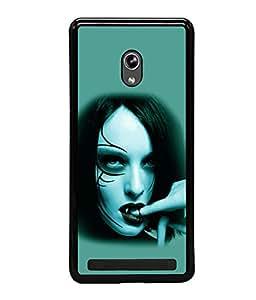 printtech Vampire Girl Blood Back Case Cover for Asus Zenfone 5 , Asus Zenfone 5 A500CG