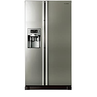 Samsung RS21HUTPN Side-by-Side Refrigerator (585 Ltrs, Platinum Inox)
