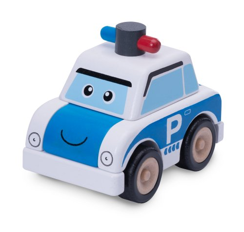 Wonderworld Build A Police Car - 1