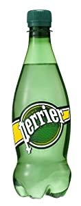Perrier Sparkling Natural Mineral Water, 16.9-ounce plastic deposit bottles (Pack of 24)
