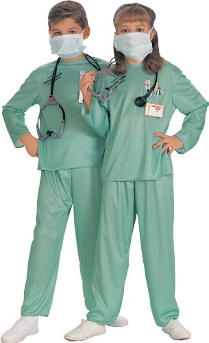 Halloween Concepts Child'S E.R. Doctor Costume, Small front-955844