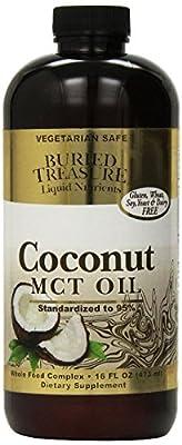 Buried Treasure Coconut Oil MCT - 16 fl oz