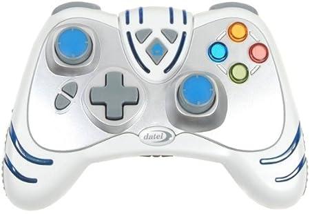 Xbox360 Wireless WildFire2-Controller (Weiß) mit Turbo-RapidFire [Importación alemana]