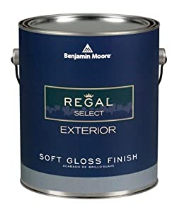 Benjamin Moore Regal Select Exterior Latex Paint Case Of 4 House Paint