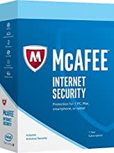 Internet Security 2017 McAfee 10 dispositivos PC/MAC/IOS/ANDRO (licencia electrónica)