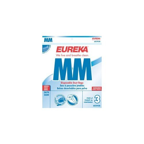 Eureka Style Mm Vacuum Cleaner Bags, 18 Pack 60295C-6