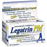 PACK OF 3 EACH LEGATRIN PM CAPLET 50CP PT#2140649050
