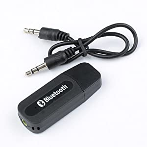 Amazon.com: BestDealUSA USB Bluetooth 3.5mm Stereo Audio Music ...