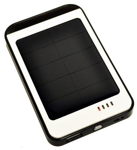 Opteka BP-SC6000 Ultra High Capacity (6000mAh) Backup Battery Solar Charger with Faster Charging EcoPanel (2013 Model)