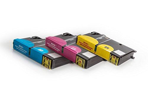 Kompatibel für Lexmark Pinnacle Pro 901 Tinten Sparset cyan, magenta, gelb - No.100 XL / 0014N1092E - 0014N1095E - Inhalt: 3 x 9,6 ml ml