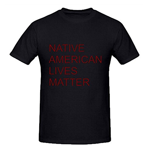 native-american-lives-matter-t-shirt-homme-short-sleeve-o-neck-xxx-large