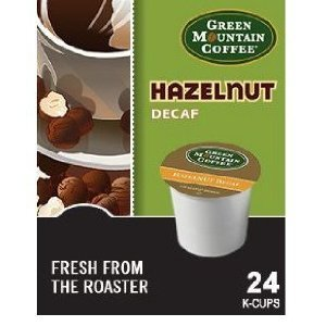 Green Mountain Coffee Hazelnut Decaf, K-Cup Portion Pack For Keurig K-Cup Brewers (Pack Of 48) front-503052