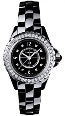 Chanel Ceramic Ladies 29mm Watch H2571 J12 from Chanel