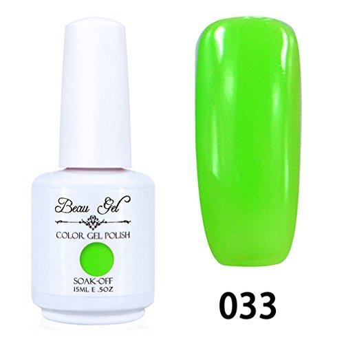 Beau Gel Vernis Gel Semi Permanent LED/UV Soak Off 15ml 033