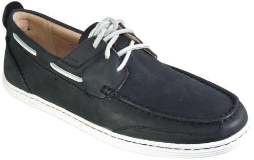 Men's Sperry, Harbor Cup 3 eye Boat Shoe BLACK 10.5 M