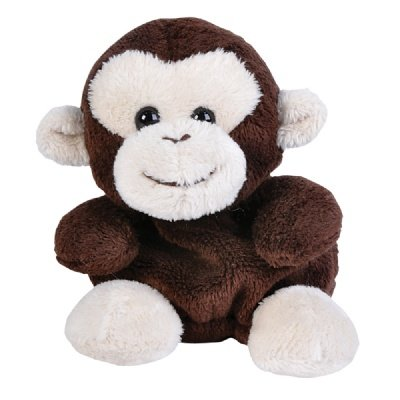 Monkey Beanie Bean Filled Plush Stuffed Animal - 1