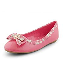 Kittens Girls Coral Synthetic Bellies (KTG244) - 2.5 UK