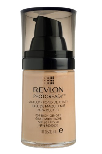 REVLON, Fondotinta Photoready, N°009 Rich Ginger, 30 ml