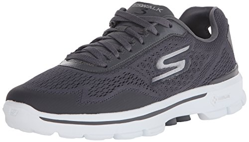Skechers Performance Men's Go Walk 3 Reaction Walking Shoe, Charcoal, 11 M US