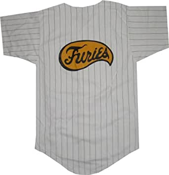 The Warriors Furies Pinstriped Baseball Jersey [Apparel]