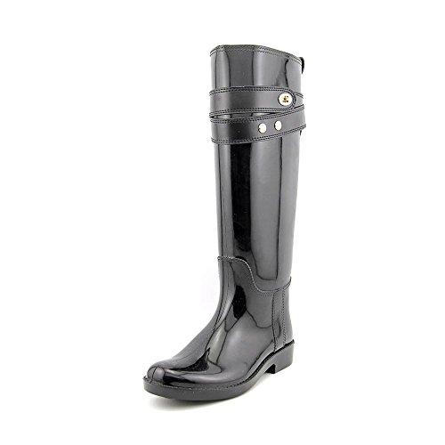 Coach Talia Women's Waterproof Rubber Rainboots Boots Black Size 8 (Good Rain Boots compare prices)