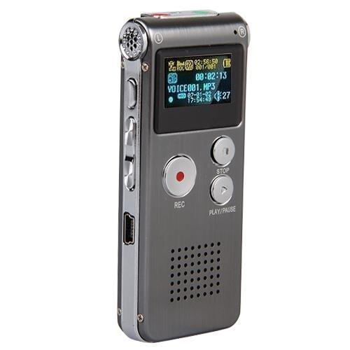 eBoTrade 16GB Digital Voice Recorder Dictaphone MP3 Player USB WAV + Microphone Speaker 16G (Sony Digital Voice Recorder Case compare prices)