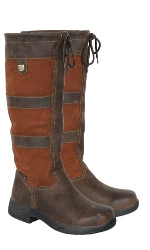 Dublin River Boots: Dark Brown: 7