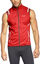 GORE RUNNING WEAR, Homme, gilet de course coupe-vent WINDSTOPPER Soft Shell, Mythos 2.0 WS SO Light, red, taille: L, VWMYLM350009
