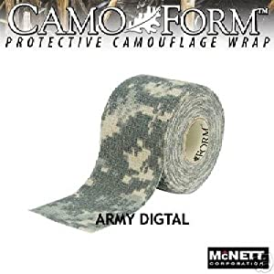 McNett ACU Digital 19411 Camo Form Camouflage Tape 12ft roll, Bag [Misc.]