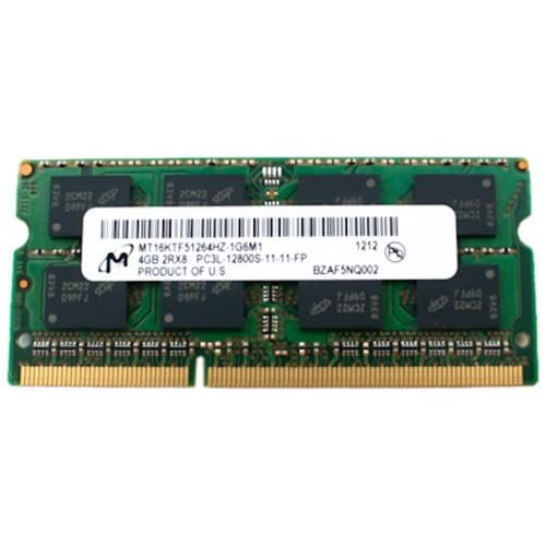 HP 691740-001 4GB, 1600MHz, PC3L-12800 DDR3L DIMM memory module at