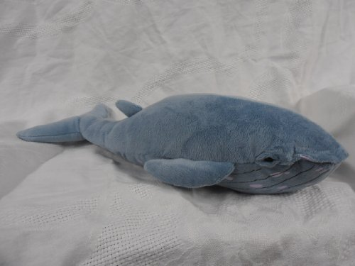 "Blue Whale Plush Toy 17"" Long"