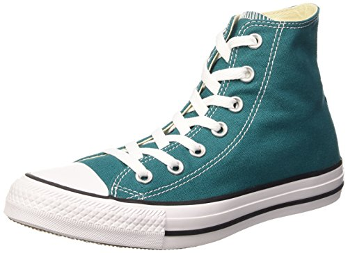 Converse Chuck Taylor All Star, Sneakers Unisex Adulto, Verde (Rebel Teal), 37.5