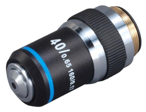 Omax 40X (Spring) Achromatic Objective Lens For Compound Microscopes