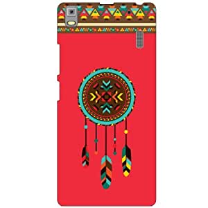 Printland Pink Phone Cover For Lenovo K3 Note PA1F0001IN