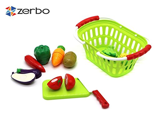 ZERBO-Small-Children-Living-Toys-with-Educational-Healthy-Vegetables-chop-and-cut-Playset