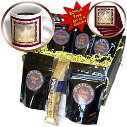 Beverly Turner Christmas Other Languages - Glædelig Jul, Merry Christmas in Danish, Tree of Lights - Coffee Gift Baskets - Coffee Gift Basket
