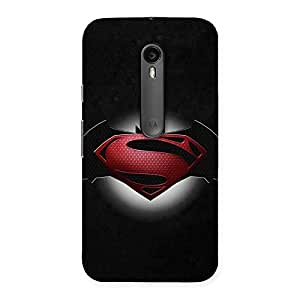 Delighted Premier Knight Vs Day Multicolor Back Case Cover for Moto G3
