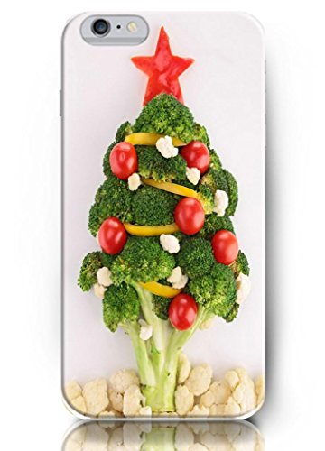 Ouo Apple Iphone6 Case (4.7 Inch) Perfit Fit Comfortable Touch - Vegetable Make A Christmas Tree