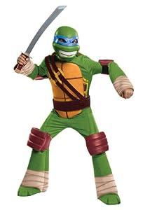 Teenage Mutant Ninja Turtles Deluxe Leonardo Costume by Rubies