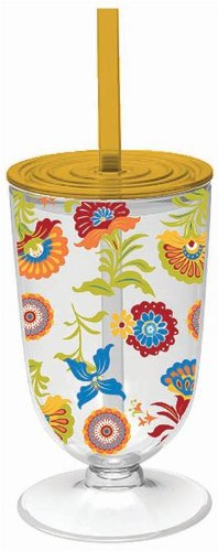 Custom Tumblers With Straw front-1042416