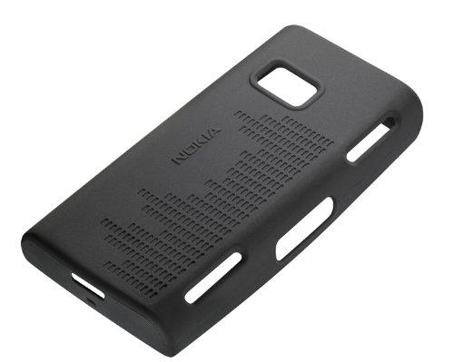 Housse en silicone noire CC-1001  pour Nokia X6
