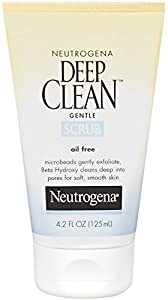 Neutrogena OilFree Deep Clean Gentle Scrub, 4.2 Ounce
