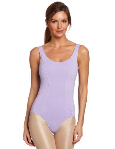 Sansha Women's Sandy Scoope neck Tank Leotard, Lavender, X-Small 2